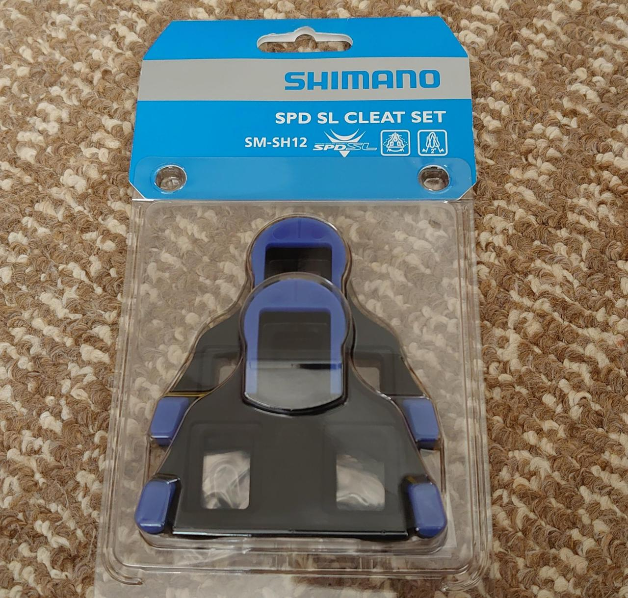 SHIMANO 青色クリート