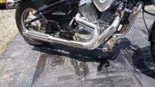 スティード400不明 マシンガンマフラーの単体画像
