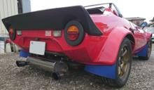 HF2000自作 大容量マフラーの単体画像