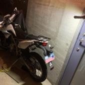 DAYTONA(バイク) 95439 グラブバーキャリア Dトラッカー/KLX125用 ブラック