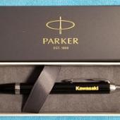 川崎重工(純正) Kawaski ロゴ入り オリジナル PARKER ボールペン
