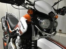 セロー250アチェルビス  Acerbis Cyclope  サイクロップ ヘッドライトの全体画像