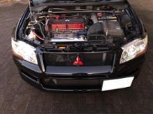 ランサーエボリューションワゴン三菱自動車(純正) ランサーエボリューションⅦ 純正フロントバンパーの単体画像