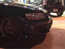 ランサーエボリューションワゴン三菱自動車(純正) ランサーエボリューションⅦ 純正フロントバンパーの全体画像