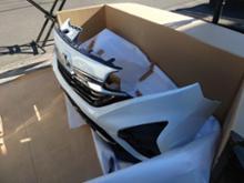 フリード+ハイブリッドModulo / Honda Access エアロバンパー フロントの全体画像