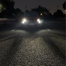 フィアット500 (ハッチバック)SONAR(ライト関連) LED付プロジェクターヘッドライト クローム インナーメッキの全体画像