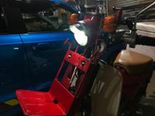 スーパーカブ デリバリー (郵政カブMD90)U-STYLE BP-033 バイク用 LEDヘッドライト 直流交流兼用 リボンタイプ 28W H4 PH7 H6 Hi/Lo ファン無 6000Kの単体画像