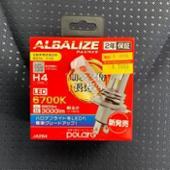 POLARG / 日星工業 ALBALIZE 6700K H4 LED JA284