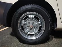 カングーMOON EYES Speed Master Wheelの単体画像