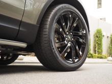 """ディスカバリー5Land Rover Genuine 22"""" Alloy Wheels Style 5011 Gloss Blackの単体画像"""