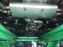 RS3(セダン)Milltek Sport Cat Back (Resonated) Black Oval Tipsの単体画像