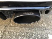 RS3(セダン)Milltek Sport Cat Back (Resonated) Black Oval Tipsの全体画像
