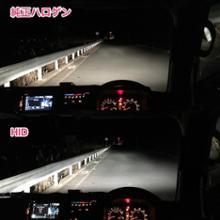 サンバーCAR MATE / カーメイト GIGA GIGA デュアルクス パーフェクトスカイ 6000K H4 HIDコンバージョンキット / GXK460の全体画像