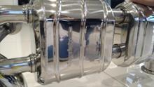 R8 (クーペ)Capristo エギゾーストバルブ付きマフラーの全体画像