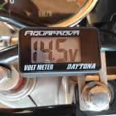 DAYTONA(バイク) デジタル電圧計