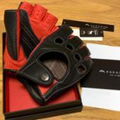 CACAZAN / イズイシ手袋 DDR-071R BLACK/RED