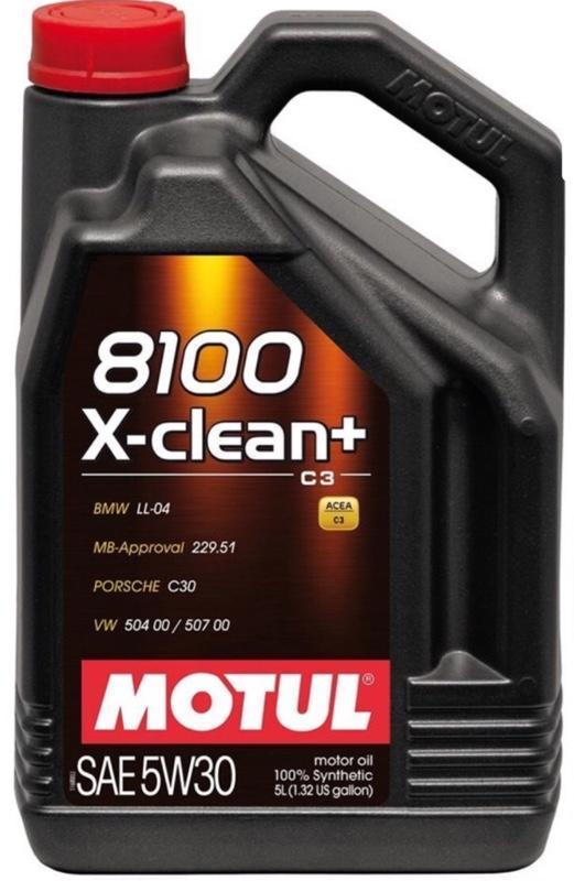 MOTUL 8100X-clean+ 5W30