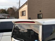 ルーミーカスタムトヨタモデリスタ / MODELLISTA トランクスポイラーの単体画像
