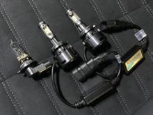 デリカD:5fcl. fcl. ファン付 LED ヘッドライト フォグランプ (H4 H7 H8 H9 H11 H16 HIR2 HB3 HB4)の全体画像