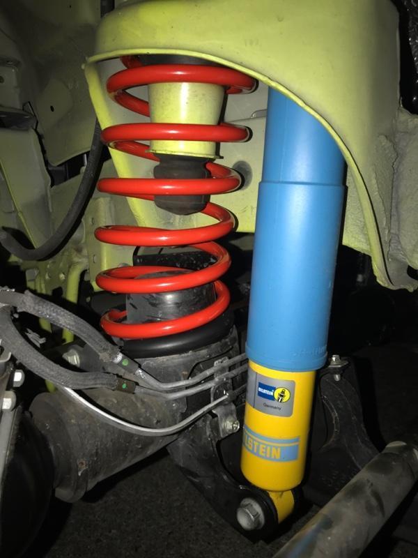 Tsuda Racing DAMSELユーロサスペンションキット JB74 ノーマル車高用