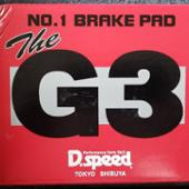 D.speed G3 BRAKE PAD