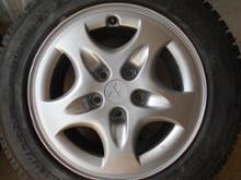 ディアマンテ三菱自動車(純正) 三菱純正アルミホイールの単体画像