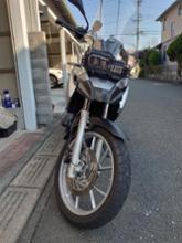 F650GSAtubeix(中国製) オートバイ交換LEDヘッドライトの単体画像