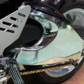 カワサキ(純正) ZX6R純正スイングアームフルメッキ加工品