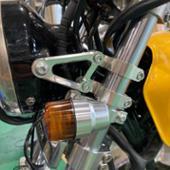 POSH アルミマシンドウインカー スーパーバイクミニタイプ