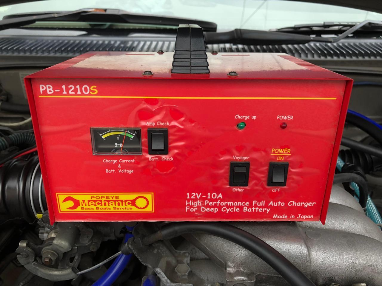 ポパイ製 ディープサイクルバッテリー充電器 PB-1210S