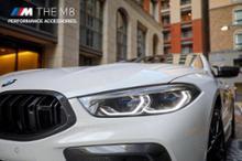 M8 クーペBMW M Performance カーボン・キドニー・グリルの単体画像