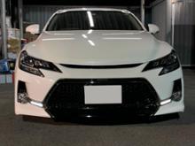 マークX G'sトヨタ(純正) マークX GR-SPORT専用メッシュグリルの全体画像