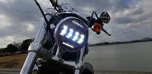 XL1200Cノーブランド 5.75インチ LEDヘッドライトの単体画像