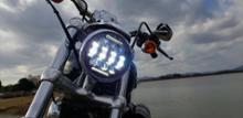 XL1200Cノーブランド 5.75インチ LEDヘッドライトの全体画像