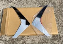 ルークスBRIGHTZ BRIGHTZ デイズ 44 45 47 48 超鏡面ステンレスメッキフォグライトサイドバンパーパネルの単体画像