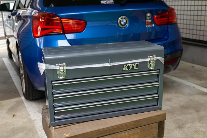KTC / 京都機械工具 チェスト(3段3引出し)ソリッドブラック SKX0213BK