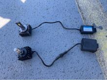 マスタング クーペXENPLUS D3Sヘッドライト新型LEDの全体画像