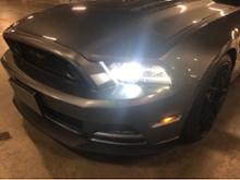 マスタング クーペOPPLIGHT D3S LED ヘッドライトの単体画像