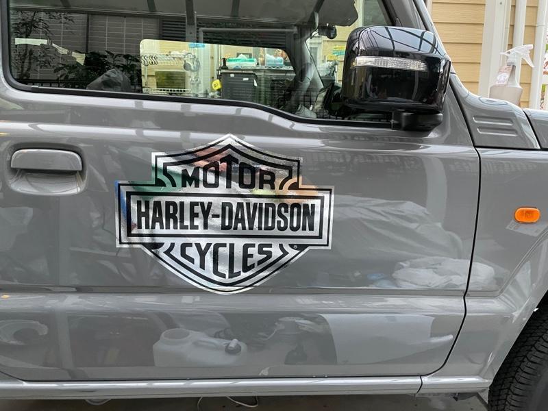 HARLEY-DAVIDSON ステッカー