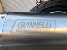 アヴェニス125GIANNELLI(ジェネリ) 52618IPR G-4 maxiscooter full systemの全体画像