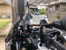 CB125RAlpha Rider ウィンドシールドエクステンションの単体画像