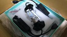 スカイウェイブ400密林で売ってた レビューの良いLEDヘッドライト H7の単体画像