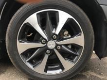 eKクロス三菱自動車(純正) 三菱純正アルミホイールの単体画像
