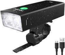 シルヴァZeelec USB充電式 自転車ヘッドライトの単体画像