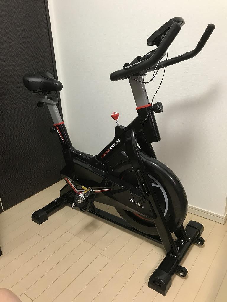 BTM BTM スピンバイク フィットネスバイク(室内練習機)