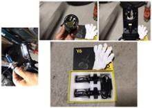 FZS1000 Fazer (フェザー)しまりす堂 プロジェクター仕様 H4 LEDヘッドライトの単体画像