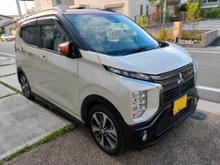 eKクロス三菱自動車(純正) フロントバンパーガーニッシュの単体画像