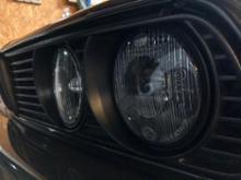 3シリーズ クーペHELLA BLACK headlightsの単体画像