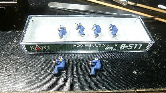 KATO 6-511 (HO)機関士