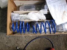 B3 SSACHS Performance Coilover Kitの全体画像